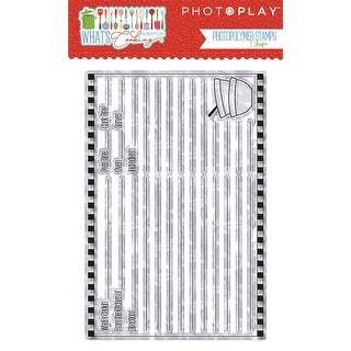Photoplay Photopolymer Stamp-What's Cooking