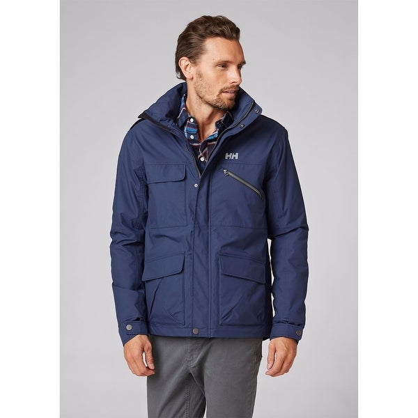 Helly Hansen Mens Universal Moto Insulated Rain Jacket