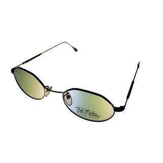 Bob Mackie Modified Oval Unisex Platinum Eyewear Frame BM 777