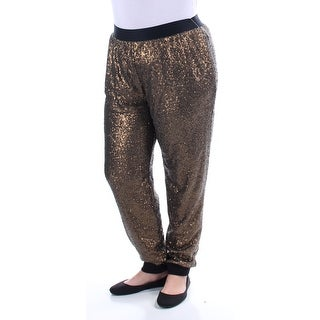 Womens Gold Lounge Pants Size XL