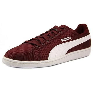 Puma Smash Ripstop Women Round Toe Synthetic Burgundy Sneakers