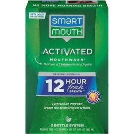 SmartMouth Mouthwash Fresh Mint 16 oz
