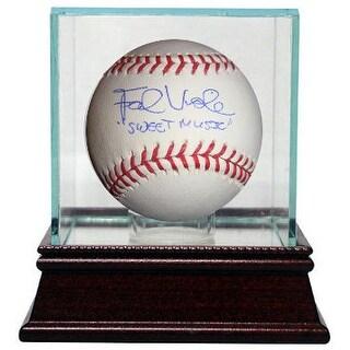 Frank Viola signed Official Major League Baseball Sweet Music w Glass Case Minnesota TwinsNew York