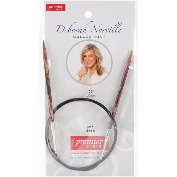 "Deborah Norville Fixed Circular Knitting Needles 32""-Size 7/4.5mm"