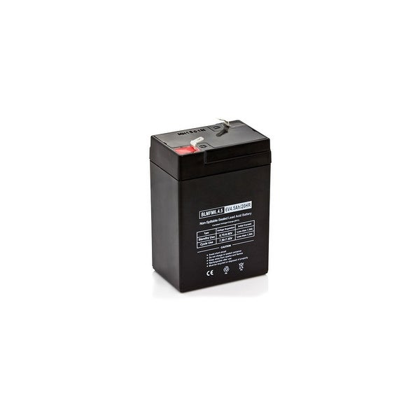 Replacement AGM SLA Battery 6V-4.5Ah (Single Pack) Replacement AGM SLA Battery