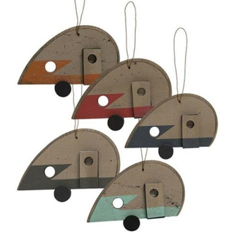 Camper Ornaments 5 asst.