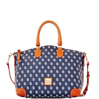 Dooney & Bourke MLB Padres Satchel (Introduced by Dooney & Bourke at $248 in Apr 2014) - Navy
