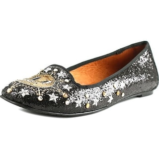 Ras Glitter   Round Toe Synthetic  Flats