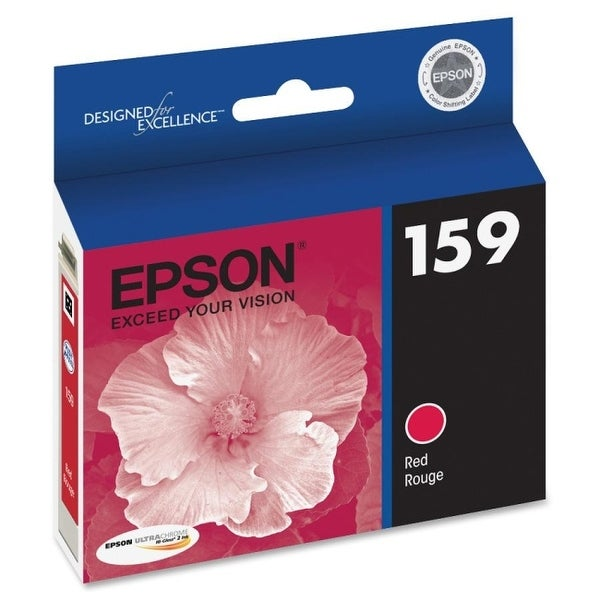 Epson america t159720 ultrachrome hi gloss 2 ink red