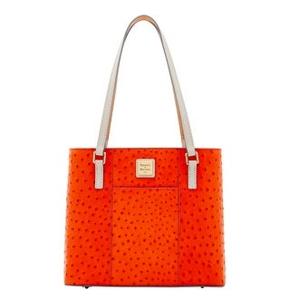 Dooney & Bourke Ostrich Small Lexington (Introduced by Dooney & Bourke at $228 in May 2017) - geranium light grey
