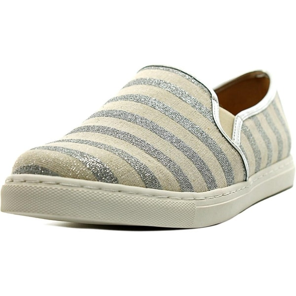 Splendid Seaside Women Round Toe Synthetic Silver Sneakers
