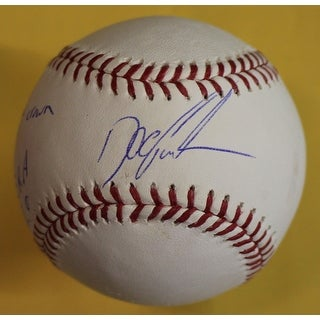 Dwight Gooden Autographed New Yorks Mets OML Baseball 4 INSC JSA