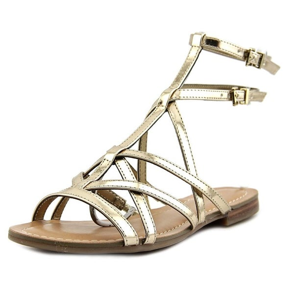 Guess Mannie Women Gold Sandals
