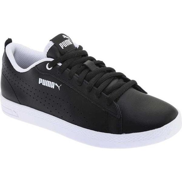 b1f4bacb9216 Shop PUMA Women s Smash V2 L Perf Sneaker PUMA Black PUMA Black ...