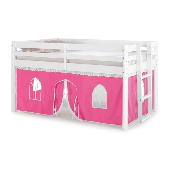 Taylor & Olive Acropolis Twin Junior Loft Bed with Underbed Tent. Opens flyout.
