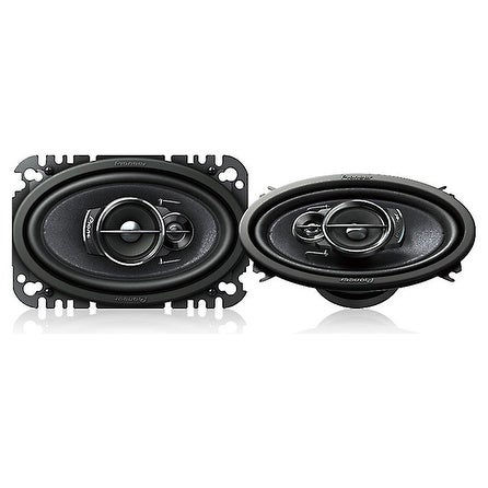 "Pioneer 4x6"" Speakers 3 Way 200W Max"