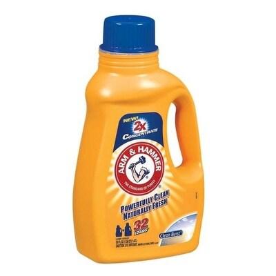 Arm & Hammer 09990 Liquid Laundry Detergent 2X Concentrate, 50 Oz.
