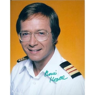 8 x 10 in. Bernie Kopell Autographed Photo - Love Boat Ships Docto