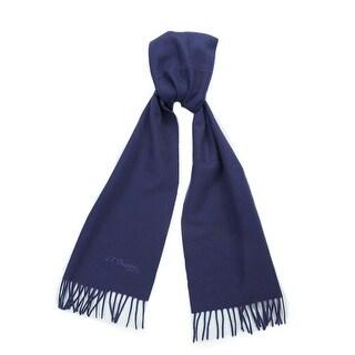 St. Dupont Paris 100WS-C VL Purple 100% Cashmere Classic Mens' Scarf