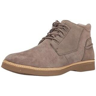 Ahnu Mens Broderick Leather Chukka Boots - 8
