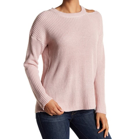 RDI Womens Medium Pullover Cutout Crewneck Sweater
