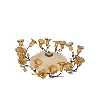 Meyda Tiffany 82759 Twenty Light Down Lighting Chandelier from the Celestial Bouquet Collection