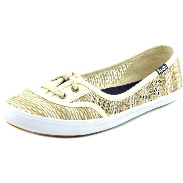 Keds teacup crochet Round Toe Synthetic Flats