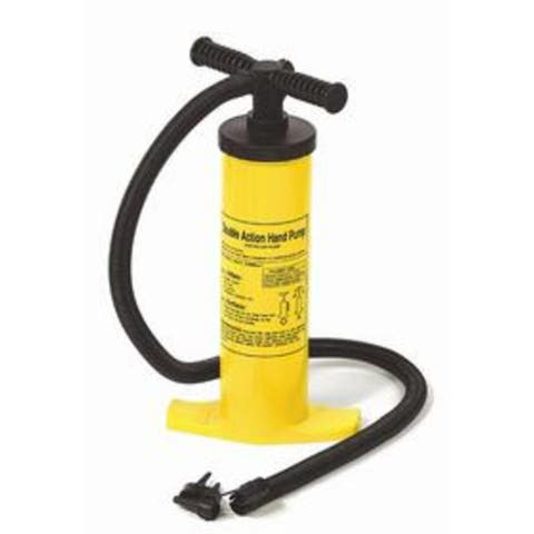 "17"" Yellow and Black Double Action Air Pump for Swimming Pool Inflatables"