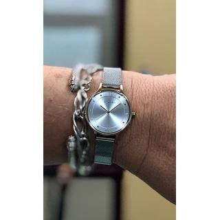 Skagen Women's SKW2340 Anita Diamond Silver Dial Stainless Steel Mesh Bracelet Watch