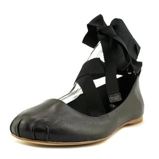 BCBGeneration Talia   Round Toe Leather  Ballet Flats