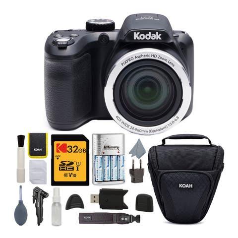 Kodak PIXPRO AZ401 Astro Zoom Digital Camera with Accessory Bundle