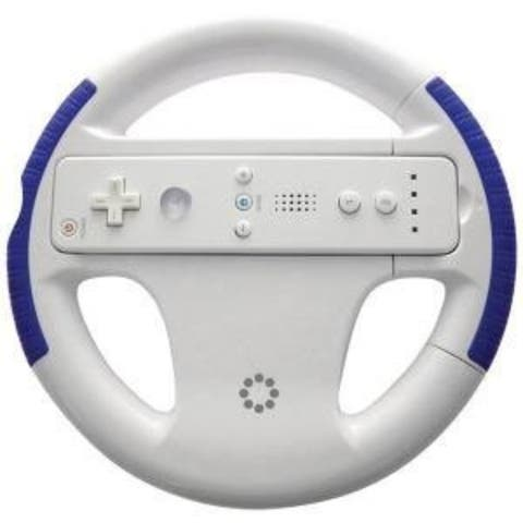 Memorex Wii, Racing Wheel, Blue