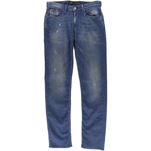Guess Mens Slim Straight Leg Jeans - 30W x 35L