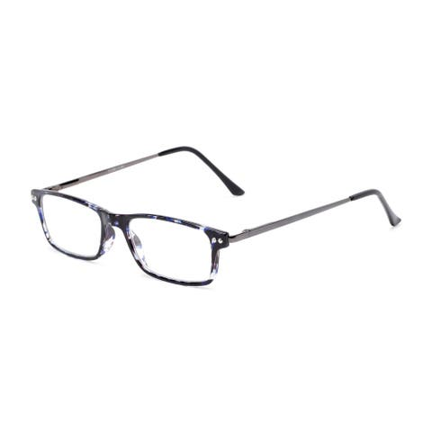 Readers.com The Emerald Rectangle Reading Glasses