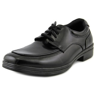 Deer Stags Sharp Men Square Toe Synthetic Black Oxford