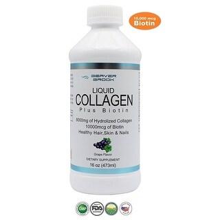 Beaver Brook Liquid Collagen 8,000mg + Biotin - 16oz