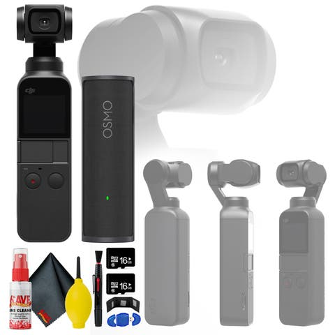 DJI Osmo Pocket Gimbal - Charging Case - 16 GB Micro SD x2