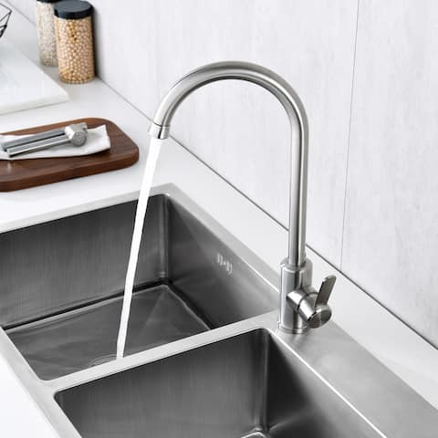 Stainless Steel Heater and Cold Kitchen Sink Faucet