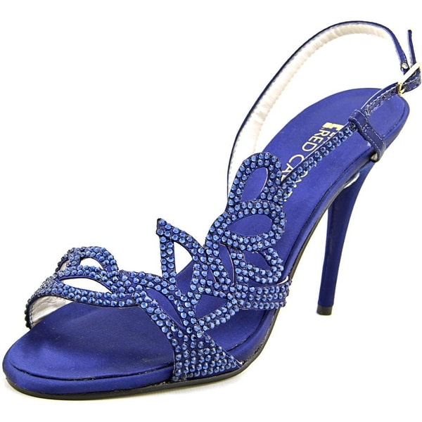 E! Live From The Red Carpet Yanni Open Toe Canvas Sandals