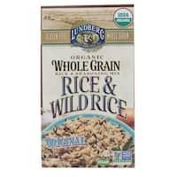 Lundberg Family Farms Organic Whole Grain Original Wild Rice - Case of 6 - 6 oz.