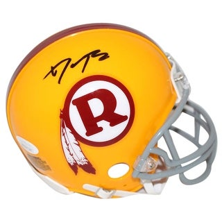 Daron Payne AutographedSigned Washington Redskins TB Mini Helmet JSA