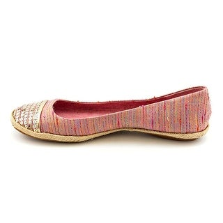 Style & Co. Womens Pearl Cap Toe Ballet Flats