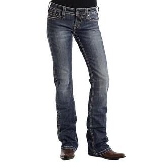 Stetson Western Denim Jeans Womens 818 Fit Deco