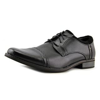 Mark Nason Brubeck Men  Round Toe Leather Black Oxford