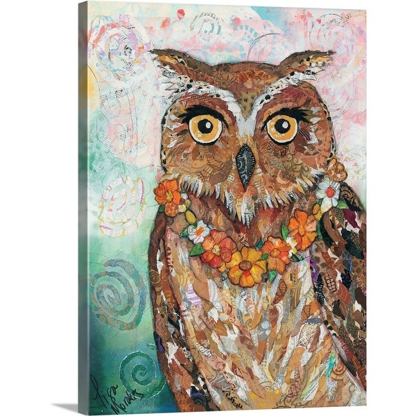 """Owl"" Canvas Wall Art"