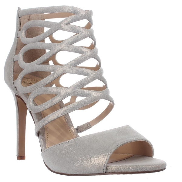 Vince Camuto Kirsi Strappy Dress Sandals, Gold Nugget - 9 us / 39 eu