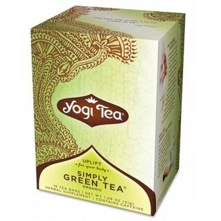 Yogi Yogi Tea Pure Green Tea- Caffeine 16 Tea Bags 1.09 oz - 31 g
