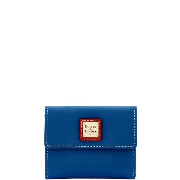 Dooney & Bourke Pebble Grain Small Flap Wallet (Introduced by Dooney & Bourke at $98 in Jun 2017)