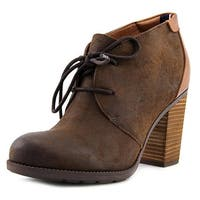 Tommy Hilfiger Womens Duff Leather Closed Toe Ankle Fashion Boots - 7