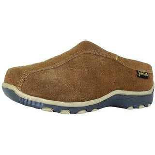 Old Friend Slippers Adult Sheepskin Fleece Alpine Dark Brown 481116